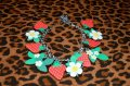 ☆Collectif☆Strawberry Plant Charm Bracelet