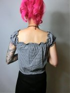 他の写真3: ☆Collectif☆Renie Gypsy Gingham Cropped Top Black 11号