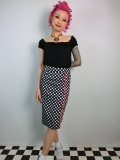 SOURPUSS ☆POLKA DOT BOMBSHELL SKIRT 13号