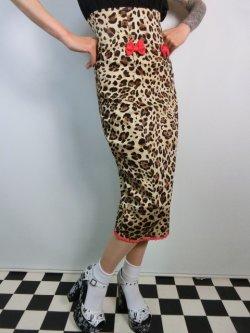 画像2: ☆Collectif☆Vanya Leopard Print Skirt 7号