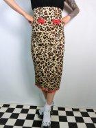 他の写真1: ☆Collectif☆Vanya Leopard Print Skirt 7号