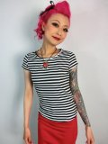 ☆Collectif☆Alice T-shirt Black 7号