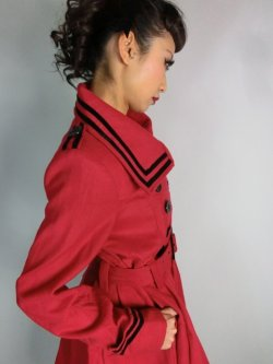 画像3: ☆HELL BUNNY☆ New Millie Coat Red 13号