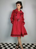 ☆HELL BUNNY☆ New Millie Coat Red 11号