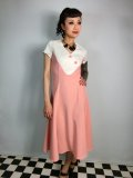 ☆Collectif☆Jenna Flared Dress Pink 11号