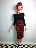 ☆Collectif☆Fiona Check Print Skirt  15号