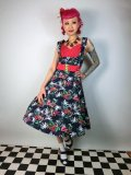 ☆Lindy Bop☆Ophelia Wild Palm Dress 9号