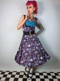 ☆Lindy Bop☆Ophelia Purple Forest Dress 9号