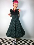 ☆Collectif☆Aida Zak Natalia Skirt Green 15号