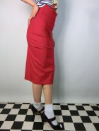 他の写真2: ☆Collectif☆Fiona Skirt Plain - Red 15号