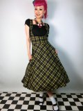 ☆Collectif☆Aida Zak Natalia Skirt Yellow15号