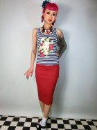 他の写真3: ☆Collectif☆Fiona Skirt Plain - Red 15号