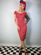 他の写真1: ☆Collectif☆Dolores Dress Polka Red 17号