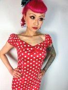他の写真2: ☆Collectif☆Dolores Dress Polka Red 17号