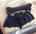 CHARCOAL DESIGNS Baby Bat Dangle Brooch