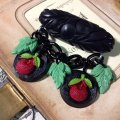 CHARCOAL DESIGNS Retro Reproduction Cherry Bow Brooch