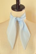 Chiffon Sheer Scarf - Light Blue