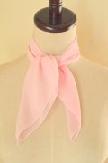 Chiffon Sheer Scarf - Light Pink