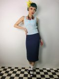 ☆HELL BUNNY☆Joni Skirt Navy 11号