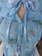 他の写真2: ☆HELL BUNNY☆Bubble&Sweet Blouse Blue 9号
