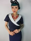 ☆Collectif☆Doreen Top Navy/Ivory 7号