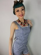 他の写真2: ☆Collectif☆Gemma Gingham Playsuit  11号