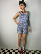 他の写真1: ☆Collectif☆Gemma Gingham Playsuit  11号