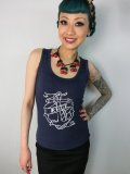 ☆Collectif☆Anchor Ahoy Print Vest Top 11号