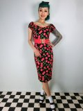 ☆Collectif☆Dolores Dress Cherry Polka Dot Print  17号