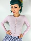☆HELL BUNNY☆ Paloma Cardigan Dolly Pink 7号