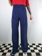 他の写真1: ☆HELL BUNNY☆Nelly Bly Trousers Navy 11号