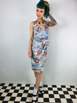 画像1: ☆HELL BUNNY☆Tiki Sarong Dress 7号