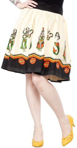 画像4: SOURPUSS SIDESHOW LADIES SWING SKIRT 9号