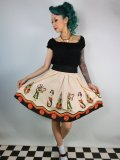 SOURPUSS SIDESHOW LADIES SWING SKIRT 9号