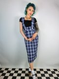 Vivien of Holloway Pinafore Skirt Royal Tartan (11号)