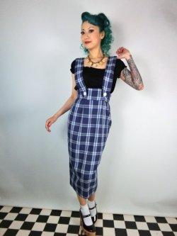画像2: Vivien of Holloway Pinafore Skirt Royal Tartan (11号)
