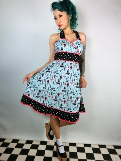 画像1: SOURPUSS ☆ MEAT PARTY ADA DRESS  13号