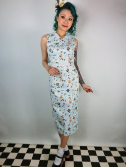 画像1: ☆Collectif☆Helen Charming Floral Print Dress 13号