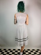他の写真3: ☆Lindy Bop☆Rosina White Polka Dot Swing Dress 11号