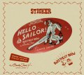 "SWEETMEAT SHOW by CandyJane ""Hello Sailor!""ステッカー"