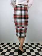 他の写真2: ☆HELL BUNNY☆Jodie Pencil Skirt White Tartan 13号