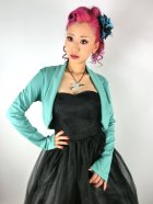 他の写真1: ☆Lindy Bop☆Jersey Pastel Green Shrug Top 13〜15号