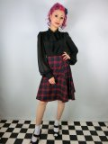 ☆Collectif☆Tammy Tai Tartan Swing Skirt 13号