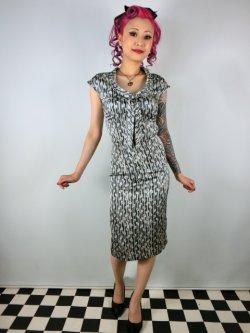 画像2: ☆Collectif☆Aida Zak Linda Striped Dress 9号