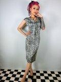 ☆Collectif☆Aida Zak Linda Striped Dress 9号