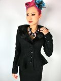 ☆Collectif☆Deana Jacket Black 7号