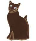 Classic HARDWARE☆Chocolate Kitty Retrolite Pin