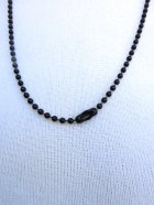 他の写真3: CHARCOAL DESIGNS Black Black Retro Cat  Necklace