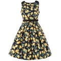 ☆Lindy Bop☆Children's Colette Lemon Print Party Dress    3〜4歳用