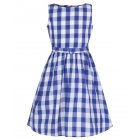 他の写真1: ☆Lindy Bop☆Children's Royal Blue Gingham Dress  5〜6歳用